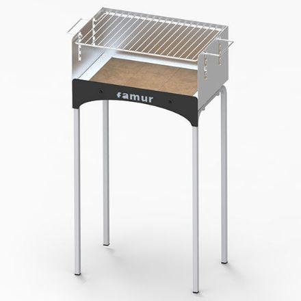 Immagine di Barbecue a legna bk1 400x250 h=768  peso= 6,9kg