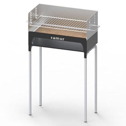 Immagine di Barbecue a legna bk2 500x250h=865 peso= 9,8kg