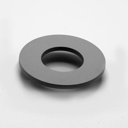 maniglia rotonda con vite  alluminio   per cassetti, comodini, armadi
