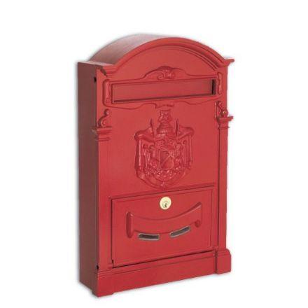 cassetta postale residence rosso