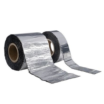 Immagine di Nastro in bitumine geko adebit 300 mmx10 m alluminio