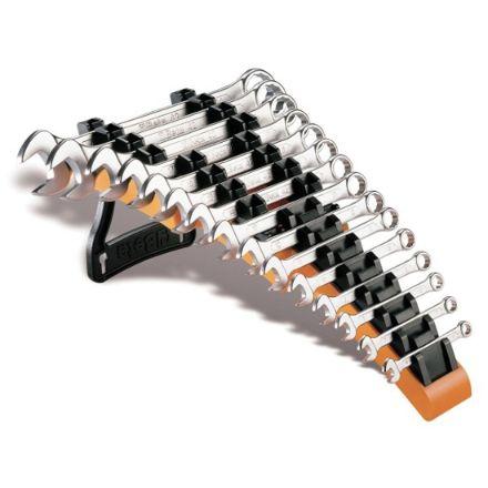 Beta serie di 15 chiavi combinate su supporto  da tavolo