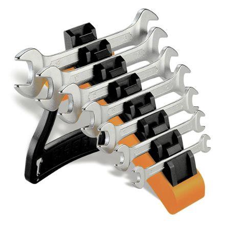 Beta serie di 7 chiavi a forchetta con supporto  da tavolo