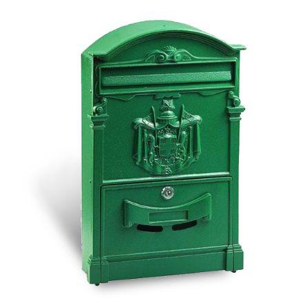 Alubox cassetta postale residence maxi verde per esterno in pressofusione di alluminio