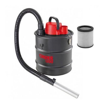Valex bidone  aspiracenere Cinder potenza 1200w -230v- 20lt