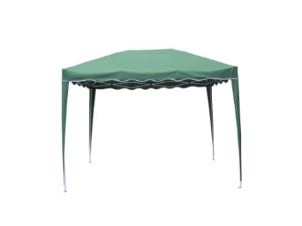 Immagine di Gazebo pieghevole colore verde struttura in metallo