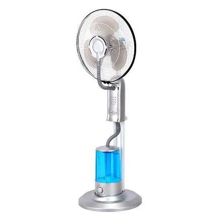 Immagine di Ventilatore nebulizzatore piantana 40 cm 75w h 1,3m grigio