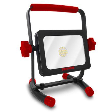 Proiettore portatile ricaricabile led sirio work 7w/15w