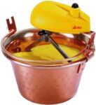 Ardes AR2460 Paiolo elettrico in rame per polenta e marmellata porzioni per 4/7 persone  Ø 26 cm