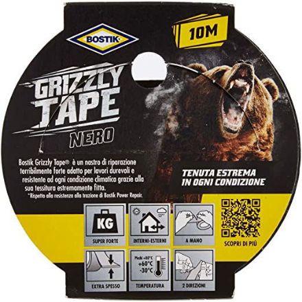 Immagine di Bostik - Grizzly Tape grigio 10mt x 50mm - Nastri per Riparazione