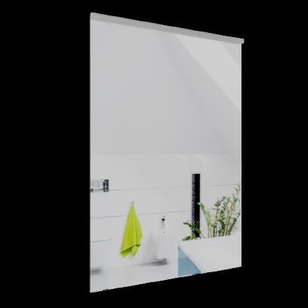 Immagine di Specchio filo lucido e lamp con filo su lato corto