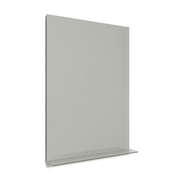 Immagine di Specchiera con mensola luminosa led 70 x 90 cm