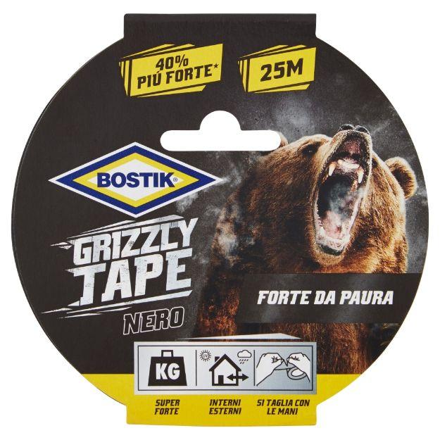 Immagine di Grizzly Tape Nero 25m x 50mm