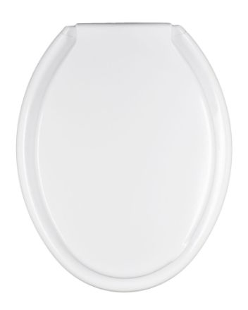 Immagine di Copriwater universale cefalo seba di colore bianco